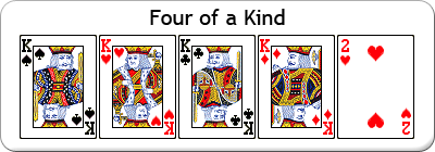 does a flush beat a three of a kind to a poker instruction