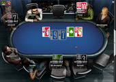 Ongame Network - table (Betfair Poker room)